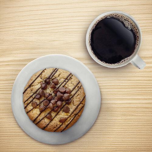 GALLETÓN TRIÁNGULO + CAFÉ
