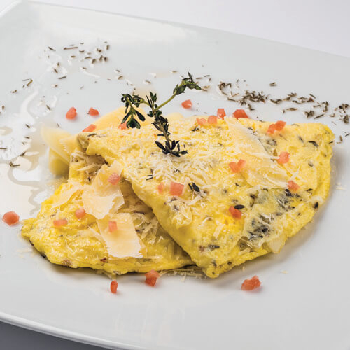 OMELETTE 3 QUESOS
