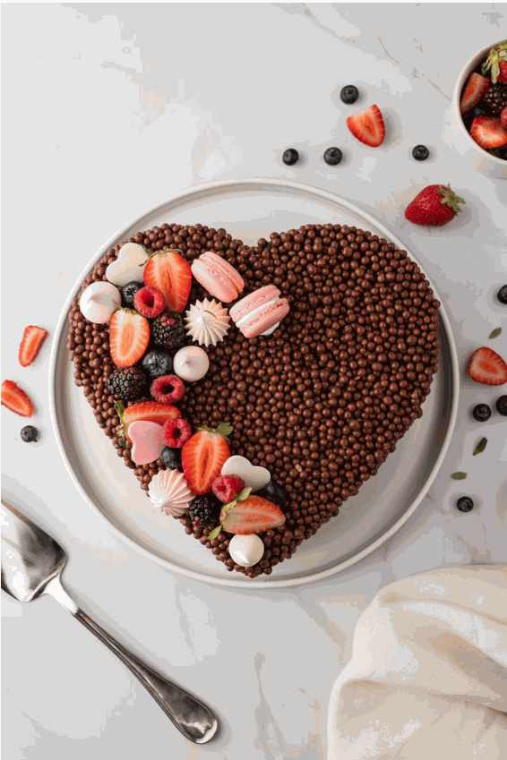 TORTA CHOCOLATE CORAZÓN